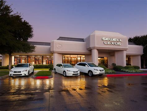 lexus dealership experience sewell lexus of fort worth serving arlington