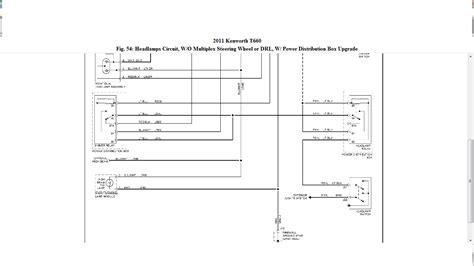 kenworth t700 wiring diagram kenworth dash lights wiring