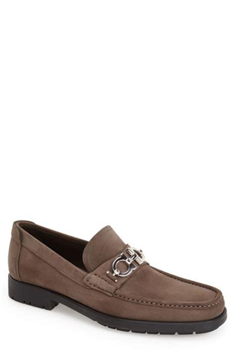 salvatore ferragamo master loafer ferragamo master loafer in brown for lyst