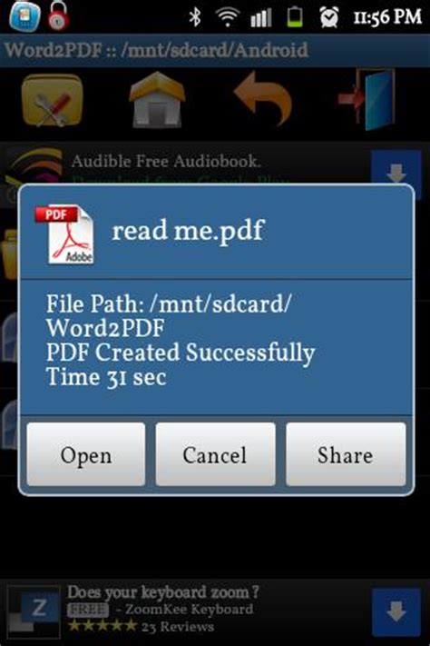 android apps apk word to pdf converter 1 2 apk for android