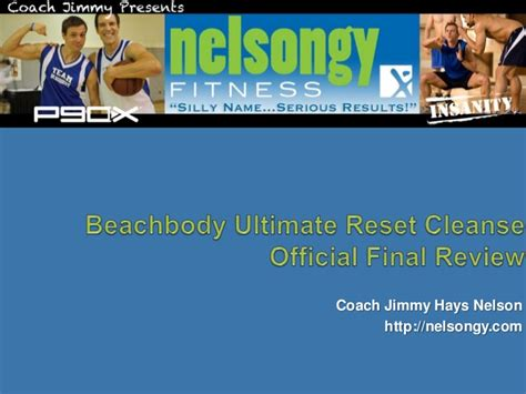 Clear Change Detox Powerpoint by Official Review The Beachbody Ultimate Reset Cleanse