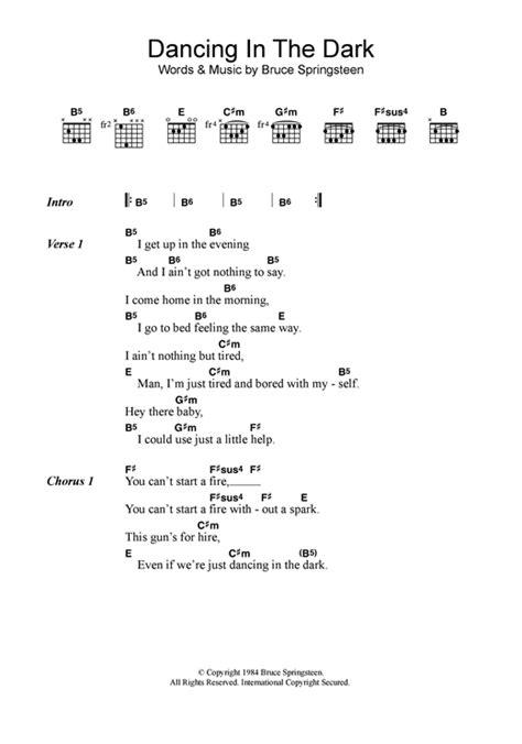 download mp3 ed sheeran dancing in the dark dancing in the dark sheet music by bruce springsteen