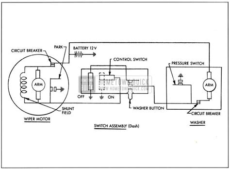 1956 buick wiper motor wiring diagrams wiring diagrams