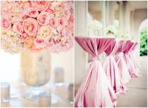 pink decorations for weddings a pink theme wedding for your special day