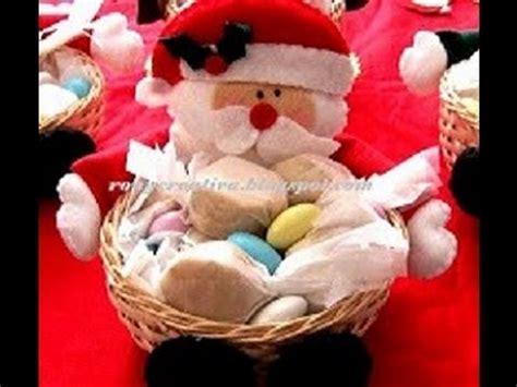 dulceros navideos navidad como hacer dulceros navide 209 os de papa noel