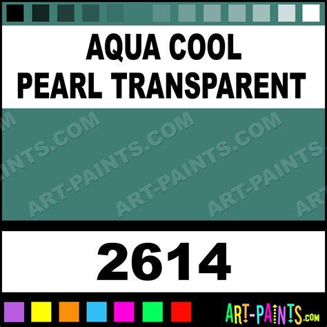 aqua cool pearl transparent ceramcoat acrylic paints