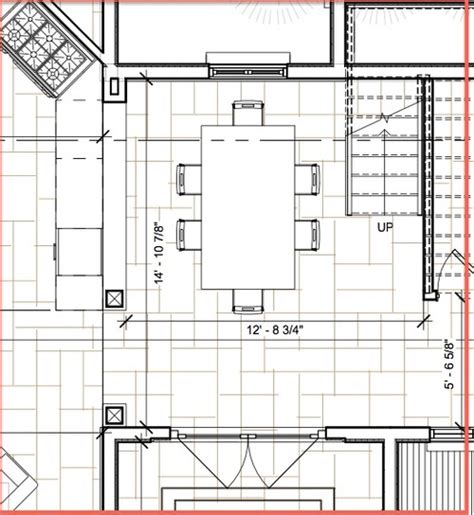 Standard Dining Room Size In Need Help For Small Dining Room Design