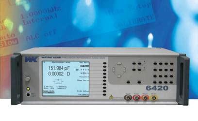 wayne kerr  impedance analyzer lcr meter audioholics