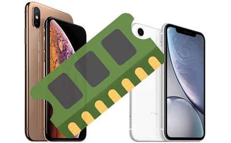 iphone xs max xs and xr ram size and battery confirmed