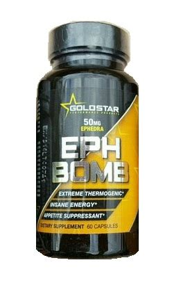 i supplements ephedra eph bomb ephedra dmaa 60ct goldstar i supplements 174