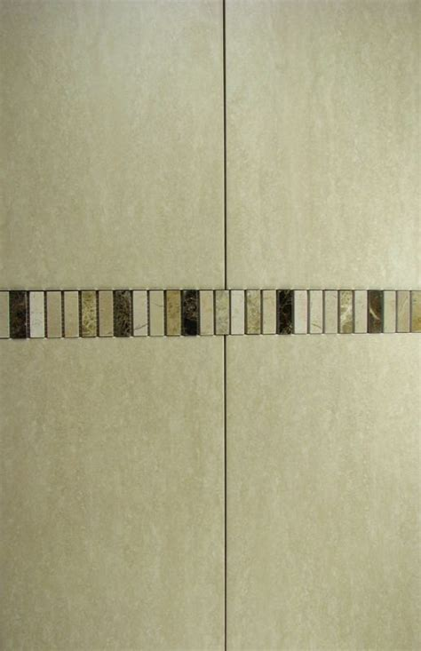 Tile Borders For Bathrooms by 20m2 Lot Travertine Effect Bathroom Wall Tiles Mosaic