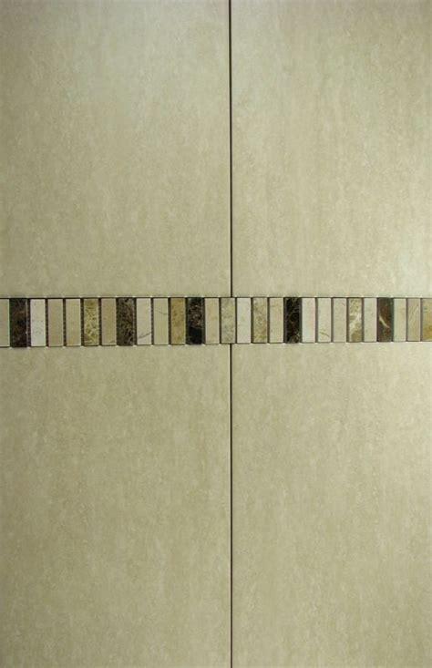 tile border bathroom 15m2 job lot travertine effect bathroom wall tiles mosaic