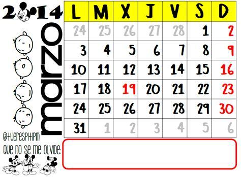 calendario de marzo de 2014 calendario de marzo 2014 listo para imprimir