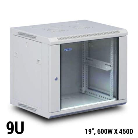 Rack 9u Toten Wall Mount Rack Cabinet 9u 19 Quot W600 X D450mm