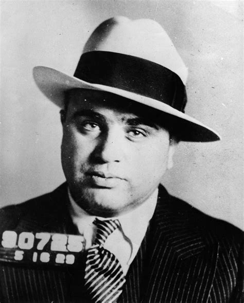 Al Capone Criminal Record Vintage Mugshots Of The Gangster That Ruled 1920s America