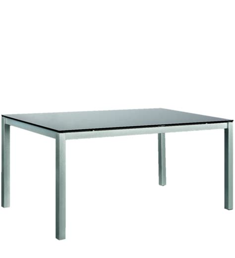 Godrej Dining Tables Midnight Dining Table With Black Glass Top By Godrej Interio By Godrej Interio