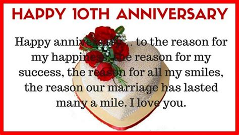 Wedding Anniversary Wishes 10 Years by 10th Year Marriage Anniversary Wishes Quotes Wallpaper