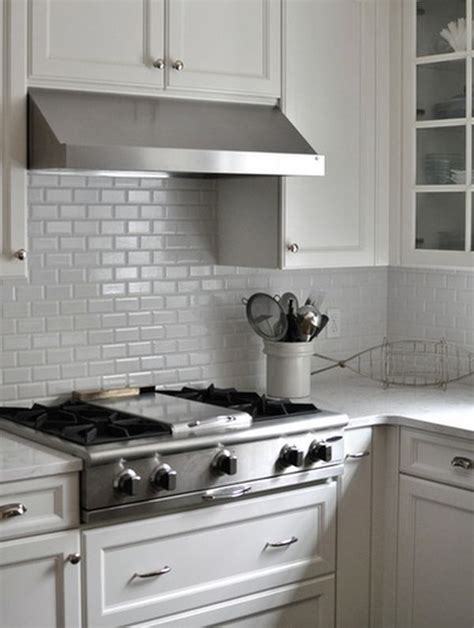Kitchen Subway Tiles Are Back In Style 50 Inspiring Designs White Kitchen Backsplash
