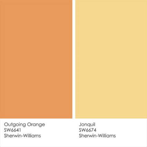 farbgestaltung und wandfarben ideen umgang mit gelb und orange