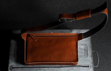 Tas Hardcase Pocket Digital Denim messenger laptop bag by graft