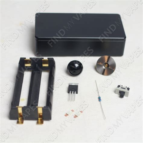 diy unregulated dual 18650 box mod kit find my vapes
