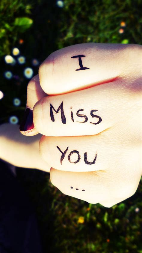 i miss you hd wallpaper for android cute i miss you wallpapers for mobile