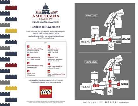 natick mall map lego master builder event natick mall metrowest mamas