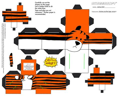 Free Paper Craft - 7 best images of printable tiger crafts printable tiger
