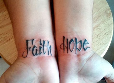 hope wrist tattoo 69 adorable faith wrist tattoos