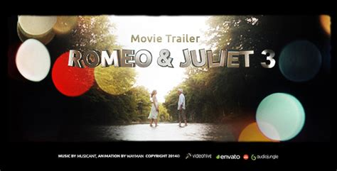 romeo juliet 3 movie trailer ae template 6592694