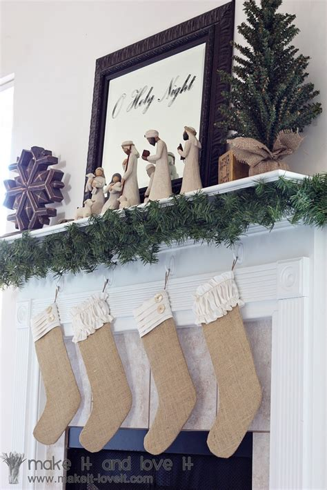pattern for burlap christmas stockings top 10 interesting diy christmas stockings top inspired