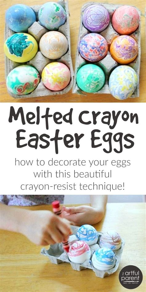 crayon freckles resurrection eggs the easter story for 1771 best the artful parent kids art holiday crafts