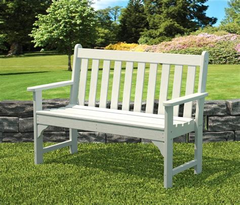 outdoor park benches recycled plastic garden bench