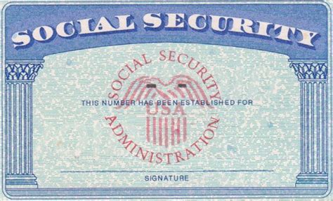 Social Security Card Template by Blank Fillable Social Security Card Just B Cause
