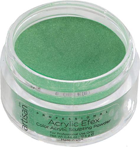 acrylic color powder artisan color acrylic nail powder green
