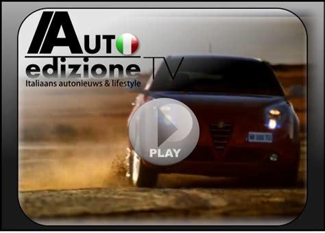 alfa romeo giulietta commercial nieuwe commercial alfa romeo mito qv auto edizione