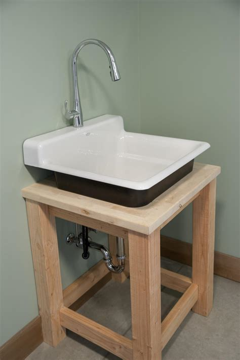 diy utility sink cabinet laundry room mudroom pictures from diy