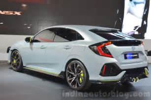 Honda Hatch Back Honda Civic Hatchback Prototype Geneva Motor Show Live