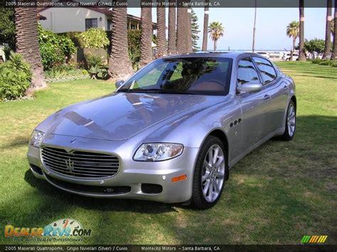 2005 maserati quattroporte grigio nuvolari silver
