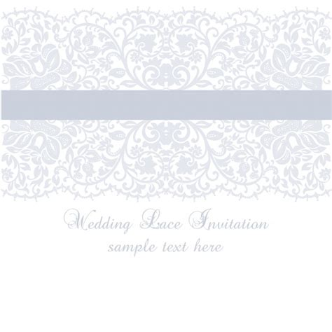 lace template purple wedding lace invitation template vector free