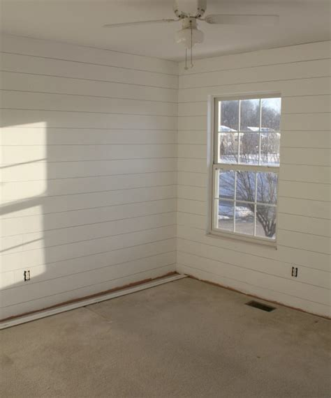 Shiplap Wall Pictures How To Hang Shiplap Paneling