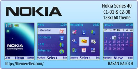 themes clock c1 nokia theme for nokia c1 01 c2 00 themereflex