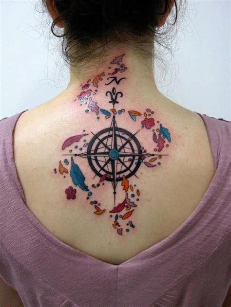rose tattoo genre 1001 id 233 es tatouage rose des vents cap sur un