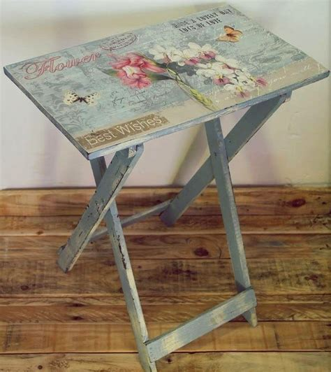 Decoupage Table Top With Fabric - best 25 decoupage table ideas on diy