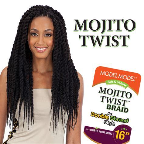 how do you curl cuban twist hair model model synthetic hair double strand style havana
