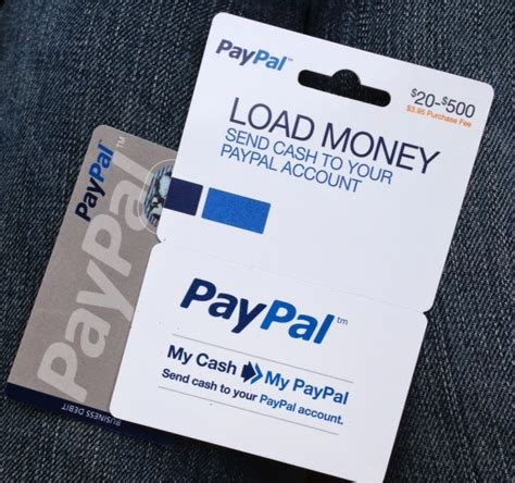 Gift Card Money To Paypal - relentless financial improvement paypal business debit mastercard and my cash reload