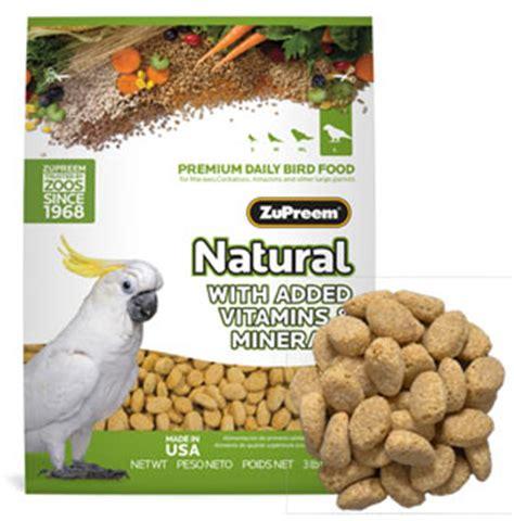 zupreem natural diet large parrot pellet 3 lb parrot