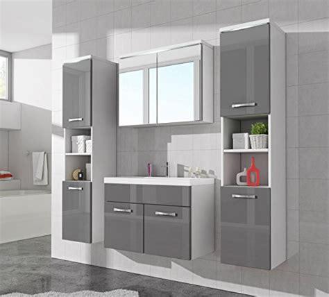 Badezimmer Unterschrank Grau by Badezimmer Badm 246 Bel Paso Xl Led 80 Cm Waschbecken