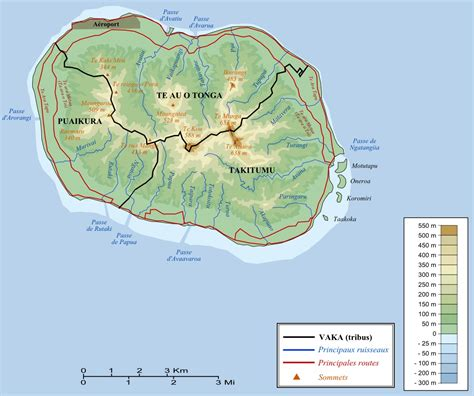 cook islands world map rarotonga map