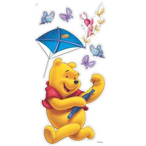 large winnie the pooh wall stickers winnie the pooh 12 large wall stickers new official